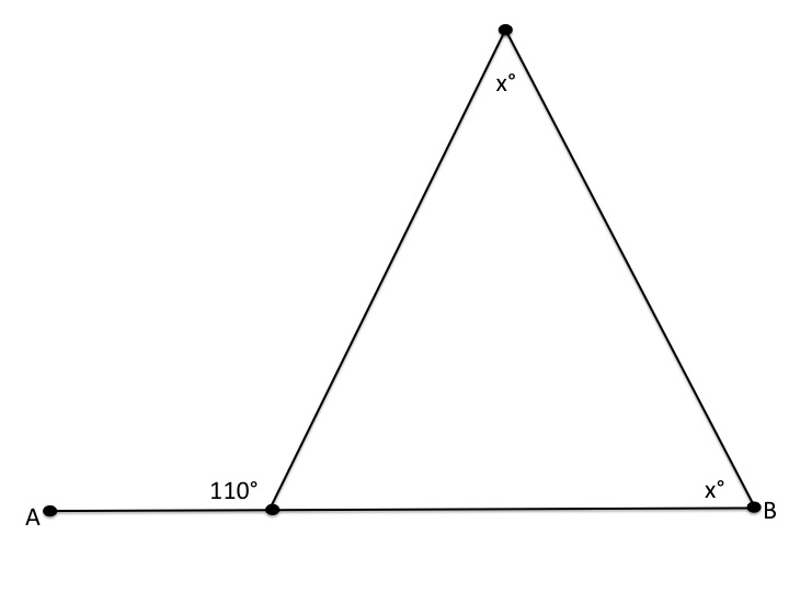 How to find an angle in an acute obtuse triangle sat math example question 1 how to find an angle in an acute obtuse triangle ccuart Choice Image