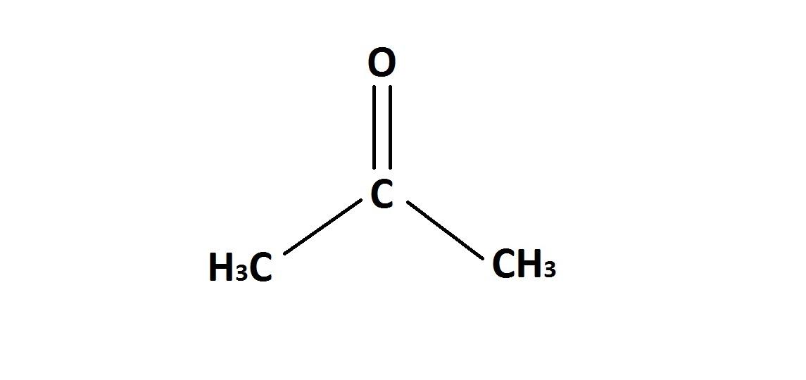 Question 2 acetone