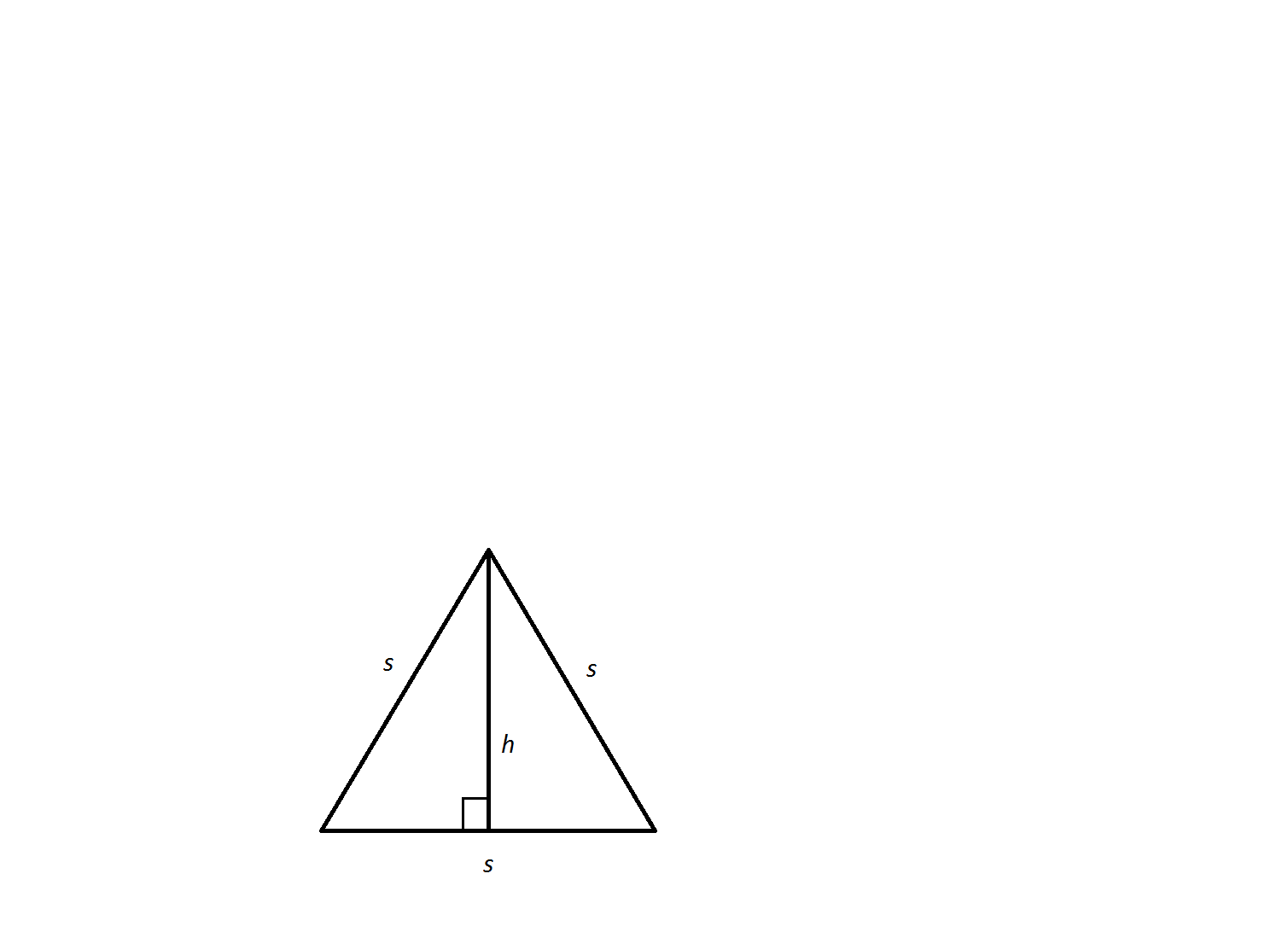 Example Question #6 : How To Find The Area Of An Equilateral Triangle
