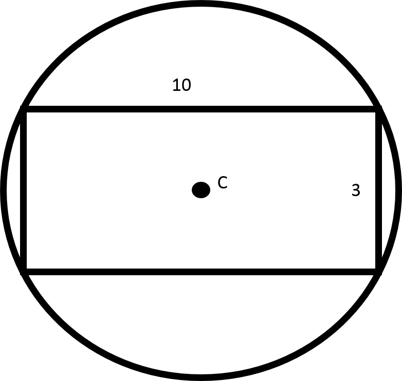 how to find the circumference of a rectangle