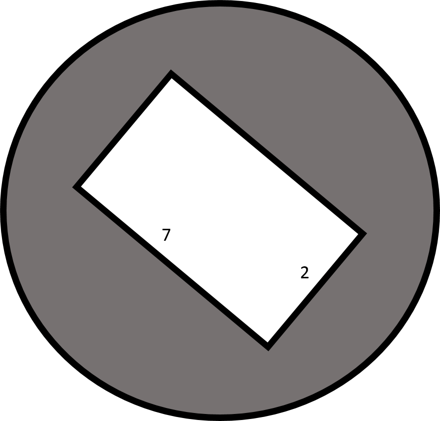 how to find the diameter of a rectangle