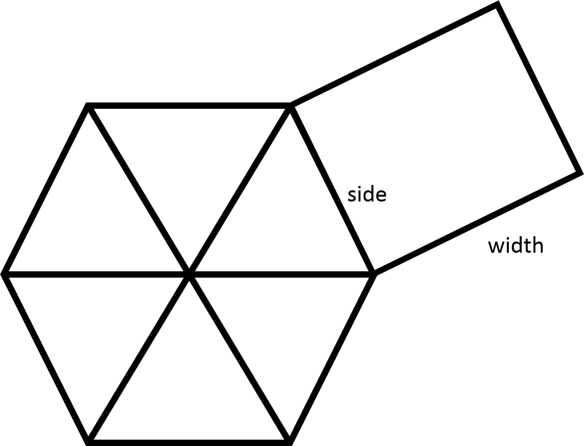 When All Of The Diagonals Of A Regular Hexagon Are Drawn In, You Should  Notice That The Hexagon Is Divided Into Six Congruent Equilateral Triangles