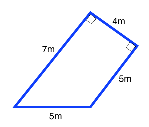 How to find the area of a trapezoid high school math determine the area of the following trapezoid screenshot2014 02 27at63924pm ccuart Choice Image