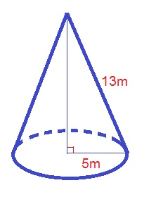 How To Find The Volume Of A Cone High School Math