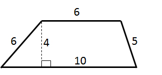 How to find the area of a trapezoid isee lower level math find the area of the trapezoid question10 ccuart Choice Image