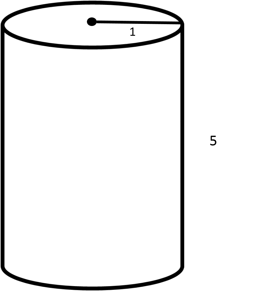 Find The Surface Area Of The Given Cylinder