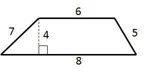 How to find the area of a trapezoid isee middle level math find the area of the trapezoid question7 ccuart Choice Image