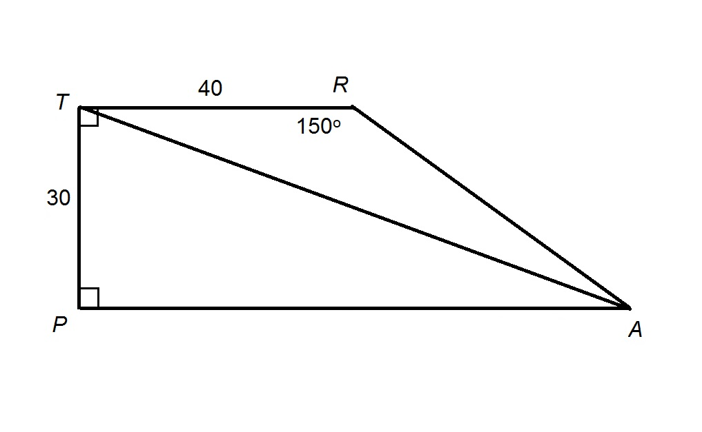 How to find the length of the diagonal of a trapezoid advanced example question 1 how to find the length of the diagonal of a trapezoid ccuart Choice Image