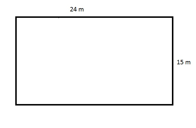 how to find the area of a cut rectangle