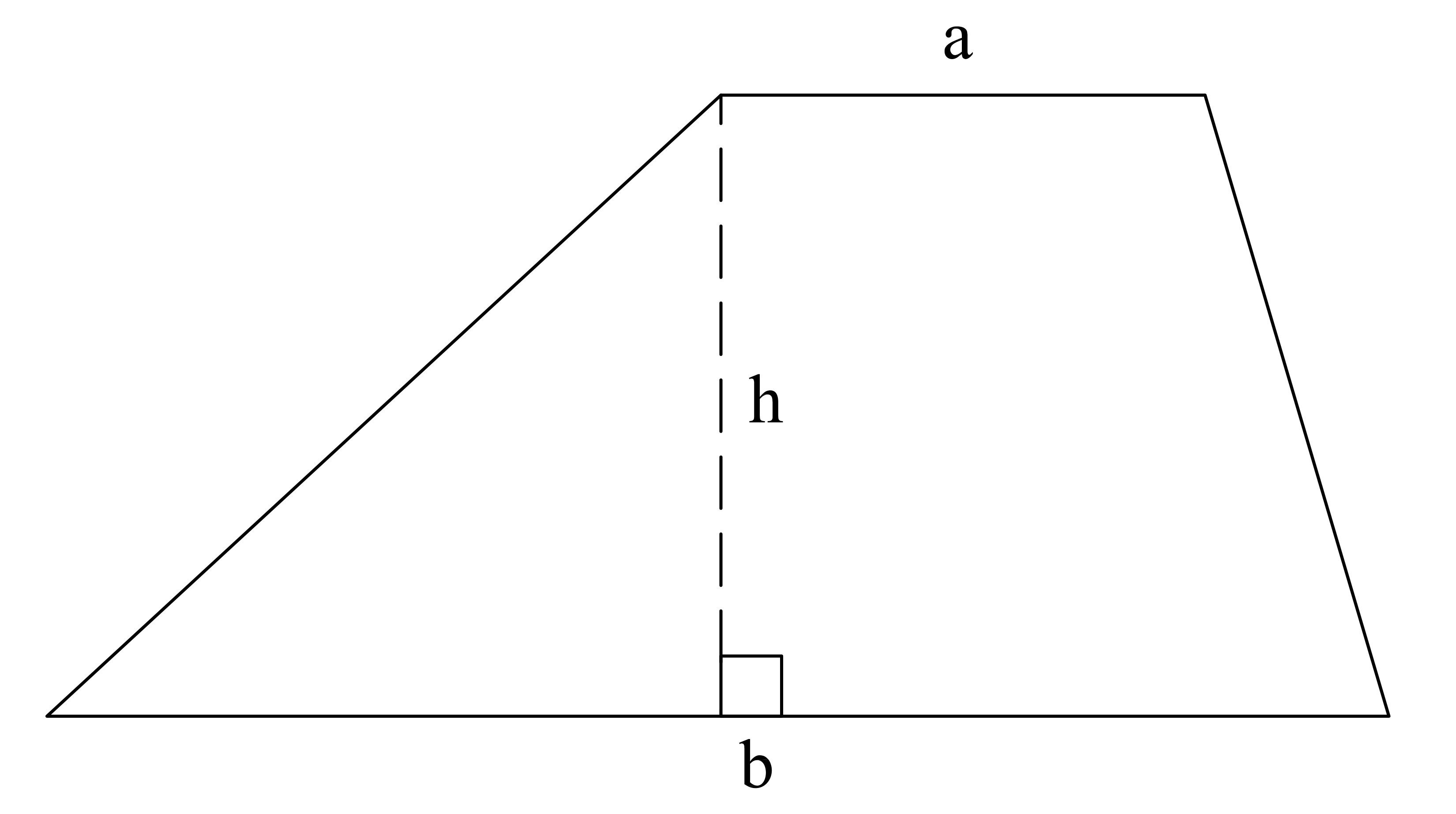 How to find the area of a trapezoid high school math example question 1 how to find the area of a trapezoid ccuart Choice Image
