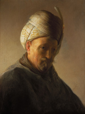 Old man with turban