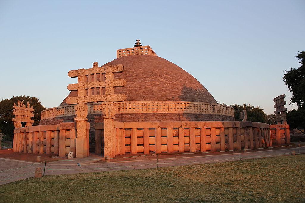 Sanchi  stupa 1  western gateway  9839922393