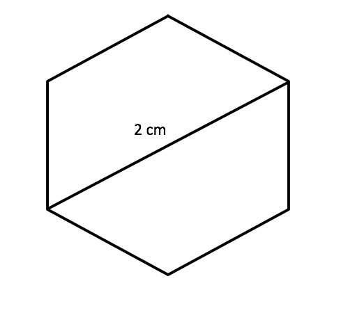 area of a hexagon Area of hexagon a 6 sided polygon is known as a hexagon to find out the area of hexagon there is a particular formula that is used in mathematics here we are going to discuss that how to calculate area of regular hexagon with examples.