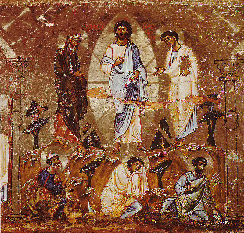 800px transfiguration of christ icon sinai 12th century