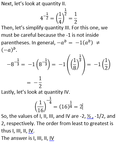 How To Find An Exponent From A Rational Number Psat Math