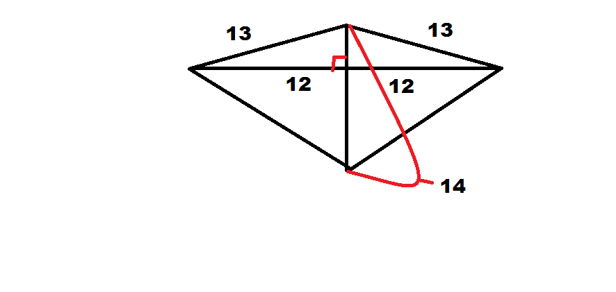 How To Find The Length Of The Side Of A Kite Intermediate Geometry