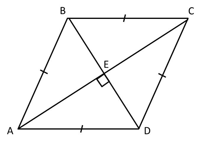 How to find the length of the diagonal of a rhombus Advanced – Rhombus Worksheet