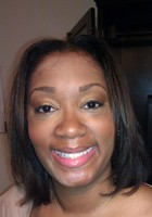 A photo of Janay who is one of our Atlanta Elementary Math tutors