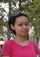 A photo of Sela who is one of our New York City Math tutors