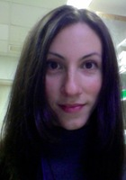 A photo of Justine who is one of our Microbiology tutors