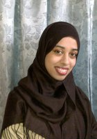 A photo of Sadia who is one of our New York City Algebra tutors