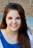 A photo of Caroline who is one of our Houston Middle School Math tutors