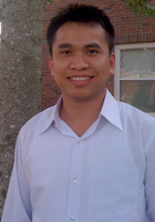A photo of Nam who is one of our Math tutors