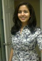 A photo of Swati who is one of our Atlanta Science tutors