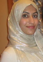 A photo of Sadia who is one of our New York City Science tutors