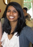A photo of Bagmi who is one of our San Diego Middle School Math tutors