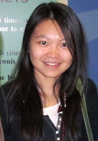 A photo of Yue who is one of our Chicago Pre-Calculus tutors