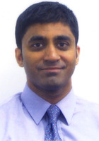 A photo of Ashok who is one of our New York City Math tutors