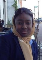 A photo of Sarat who is one of our Writing tutors in Washington DC