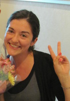 A photo of Azra who is one of our Writing tutors