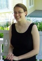 A photo of Sara who is one of our Washington DC Phonics tutors