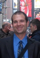 A photo of David who is one of our New York City Writing tutors