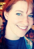 A photo of Caitlin who is one of our Dallas Fort Worth Phonics tutors