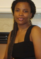 A photo of Josiane who is one of our Atlanta Languages tutors