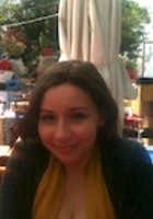 A photo of Elana who is one of our New York City GRE tutors