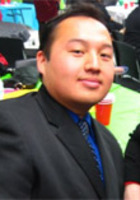 A photo of Toufu who is one of our Government tutors