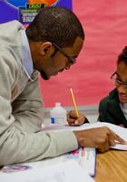 A photo of Jovan who is one of our Atlanta GRE tutors