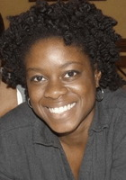 A photo of LaToya who is one of our Writing tutors in Washington DC
