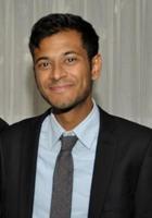 A photo of Akash who is one of our New York City Test prep tutors