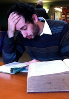A photo of Linus who is one of our SAT Writing tutors in Washington DC