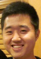 A photo of Sangwon who is one of our Tucson Elementary Math tutors