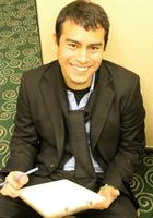 A photo of Javier who is one of our San Diego Biostatistics tutors
