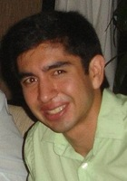 A photo of Juan who is one of our Houston Math tutors
