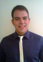 A photo of Alberto who is one of our St. Louis Writing tutors