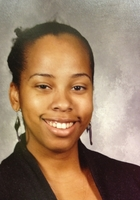 A photo of Naimah who is one of our Philadelphia Elementary Math tutors