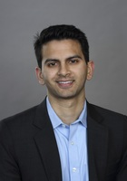 A photo of Amit who is one of our Chicago Calculus tutors